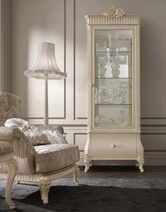 Florentia Vitrine, Schaukasten für klassisches Wohnzimmer