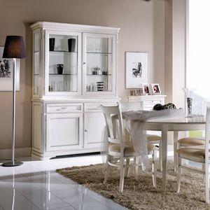 La Maison MAISON608T, Eleganter Kristallschrank im klassischen Stil