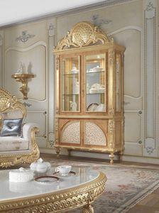 Lariana Vitrine, Klassisches Fenster mit Perlmutteinlagen