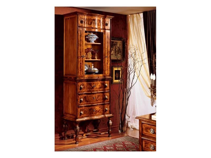 Venezia cabinet 100, Vitrine für klassische Esszimmer