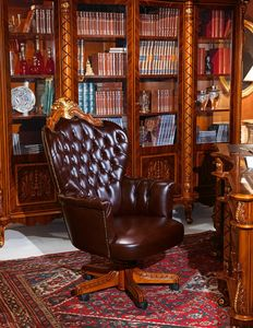 Art. 635, Presidential Sessel für luxuriöse Büros, gesteppter Polsterung