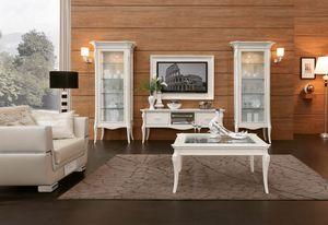 MONTE CARLO / Heimkino-TV-Ständer, Eleganter TV-Ständer für Wohnzimmer