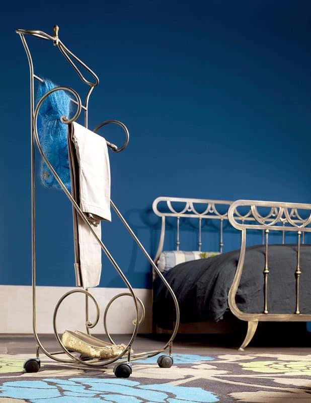 Oasis Kammerdiener, Metallherrendiener, für klassische Schlafzimmer