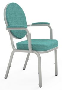 Adamas 66/4A, Stuhl mit Armlehnen für Konferenzen