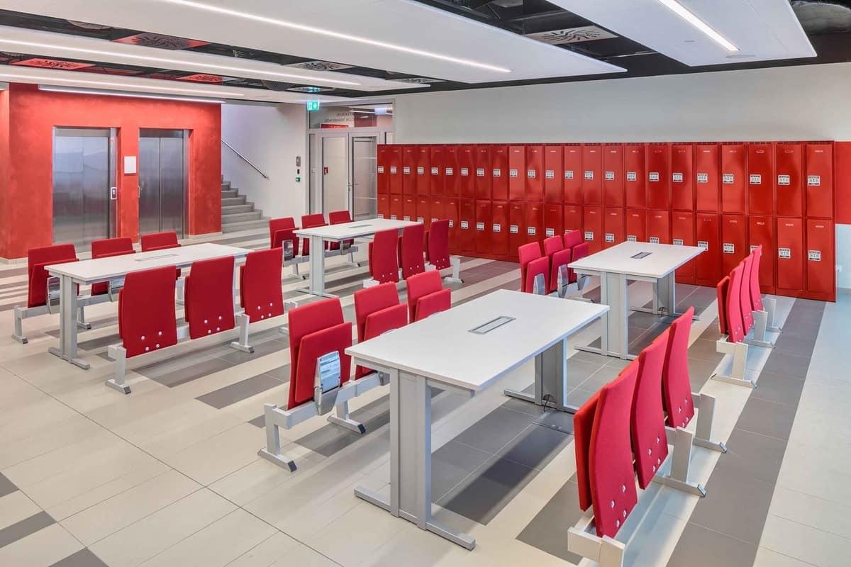Ateneo 14, Sitzsystem für Universitäten, in der modernen Art