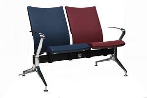 AVIAGATE 4500/B, Sitz auf Balken für Flughafen mit gepolstertem Sitz