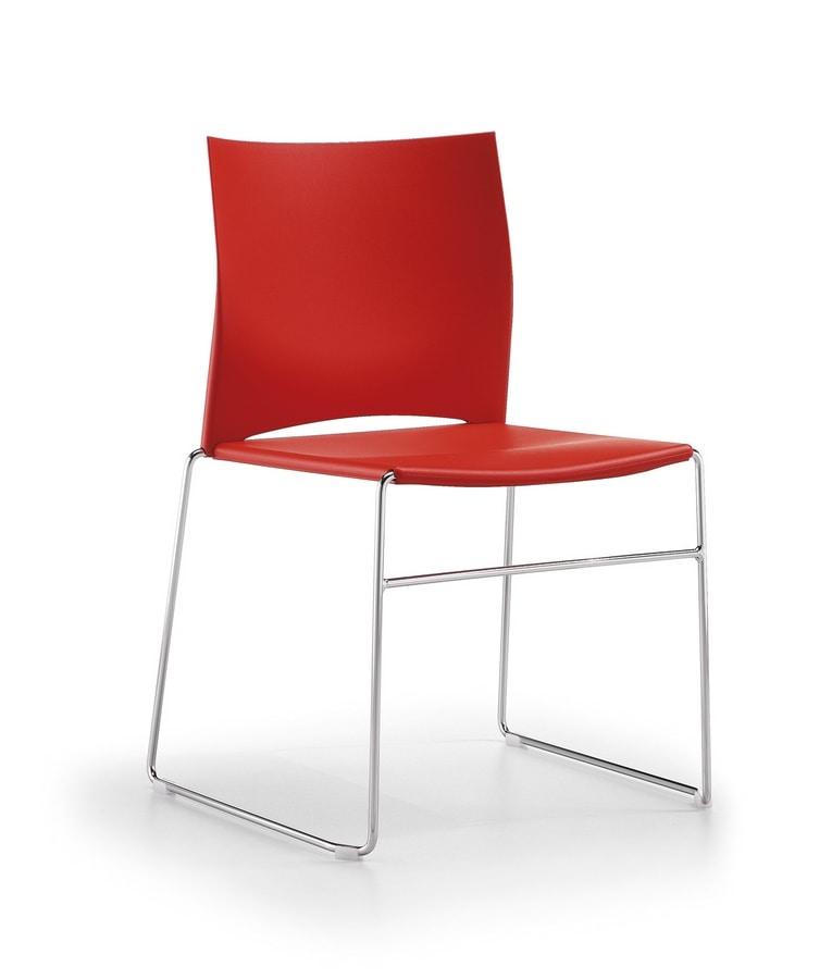 CW Stuhl, Stapelbarer Stuhl
