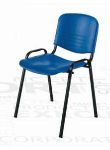 Iso, Stapelbarer Stuhl für multifunktionale Räume