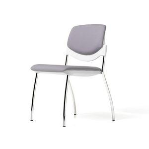Sunny New gepolstert, Gepolsterter Stuhl mit Schreibplatte ausrüstbar