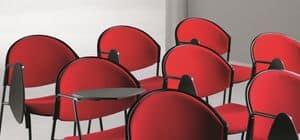 DELFI 082 TDX, Stuhl mit Metallgestell, für Konferenzsäle