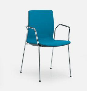 Q3, Gepolsterter Stuhl für Konferenzräume
