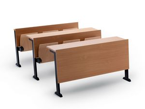 Ateneo desk N, Sitze und Schreibtische für Universitäten