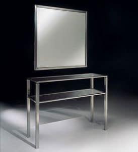 DOMUS 2190 CONSOLE, Moderne Konsole aus Metall f�r Wohnzimmer