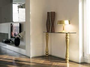 s60 tullio, Kabinett für den Eingang mit zwei Beinen, Wandmontage