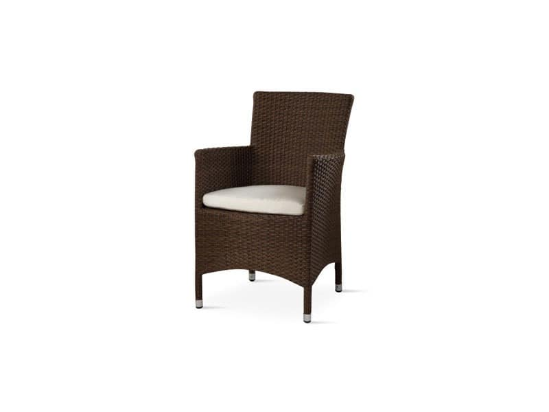 Art. TR 909, Stuhl mit Armlehnen für den Außeneinsatz