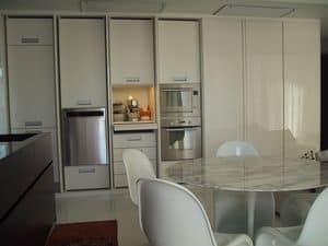 GHOST, Elegante und funktionelle Küchenzeile, zugeschnitten