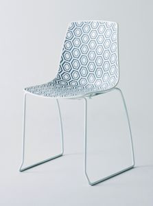 Alhambra S, Stuhl mit Kufen, für Bars und Restaurants