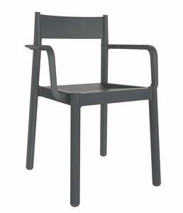 Danna, Stapelbarer Stuhl im Freien