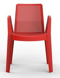 Playa, Stapelbarer Stuhl aus Polypropylen