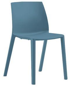 RECY 155, Stapelbarer Stuhl aus 100% recyceltem Polypropylen