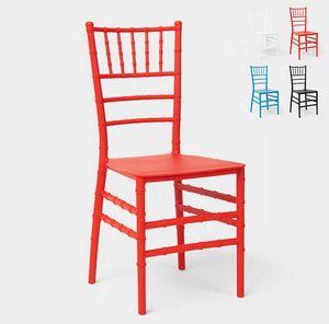 Traditionelle Klassische Designstühle für Restaurantzeremonien und Hochzeiten Chiavarina X SC718PP, Chiavarina Stuhl aus Kunststoff