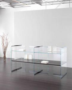 Glassystem COM/GS18, Vitrine für den Laden
