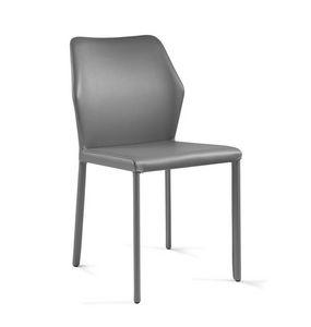 Mirò, Stuhl mit sechseckiger Rückenlehne