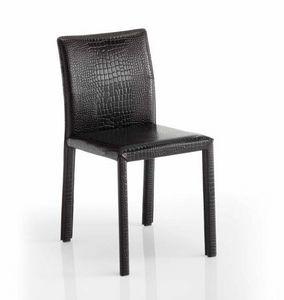 Sissi, Stuhl mit Leder bezogen