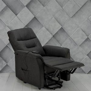 Elektrisch verstellbarer Relaxsessel mit Stofflifter MARIE für ältere Menschen - SR680FGS, Liegesessel mit elektrischem Mechanismus