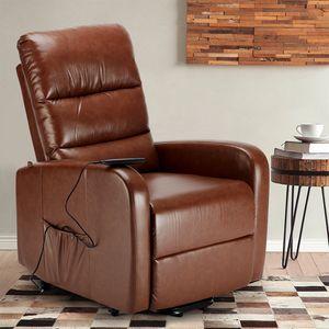 Elektrischer Relaxsessel mit Personenlift in Kunstleder ELIZABETH Design - SR681PUN, Elektrischer Sessel mit Personenaufzug