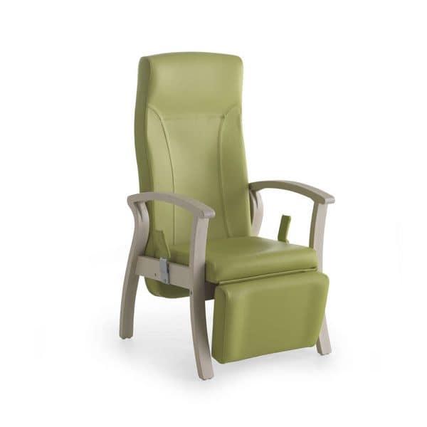 Silver Age 07 EV GAS, Sessel für ältere Menschen, Liege Fußstütze