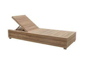 Saint Tropez 0517, Liegestuhl mit ausziehbarem Tisch