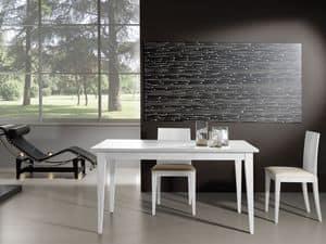 Ergänzungen Tisch 03, Erweiterbar Holztisch, ideal für moderne Wohnzimmer