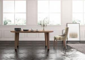 Cortina, Linear Esstisch, ausgestattet, klassischer Lounge