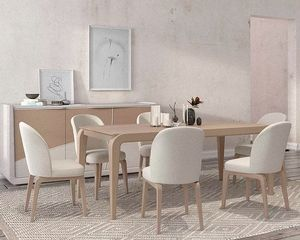Desi, Eleganter Holztisch