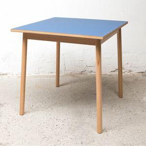 Tisch BOLZ 80x80 cm, Quadratischer Tisch zum Outlet-Preis