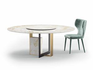 Moore, Tisch mit Marmorplatte