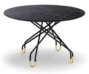 Archimede, Tisch mit ovaler Platte