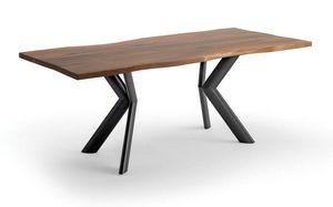 Joker, Tisch mit Platte aus furniertem Holz