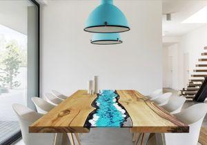 Life Oceanside, Tisch mit Lavasteineinsatz