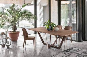PRIAMO 230 TP162, Tisch mit eleganten und klaren Linien