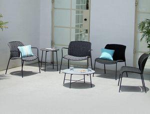 SLICK LOUNGE, Liegestuhl im Freien