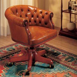 EISENHOWER, Luxuriöse Ledersessel für das Executive Office