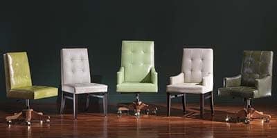 Star 2, Edelbürostuhl im klassischen Stil, für eine luxuriöse Einrichtung