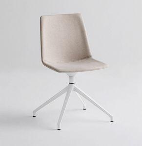 Akami U, Stuhl mit drehbarer Basis