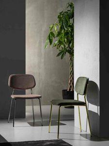 Art. 217 Ginger, Essentieller Stuhl aus schmutzabweisendem Stoff