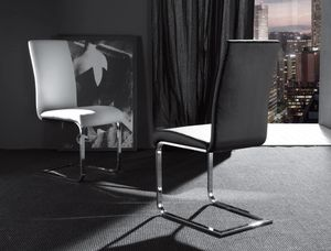 Art. 299 Kant, Stuhl mit Metall Cantilever Basis, gepolstert