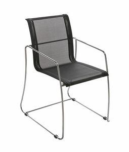 Avalon 5313, Stuhl mit Kufengestell, Netzsitz