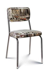 Chanel, Gepolsterter Stuhl mit trendiger Polsterung