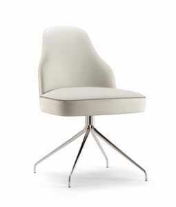 CHICAGO SIDE CHAIR 015 S Z, Moderner Stuhl mit Spinnenbasis